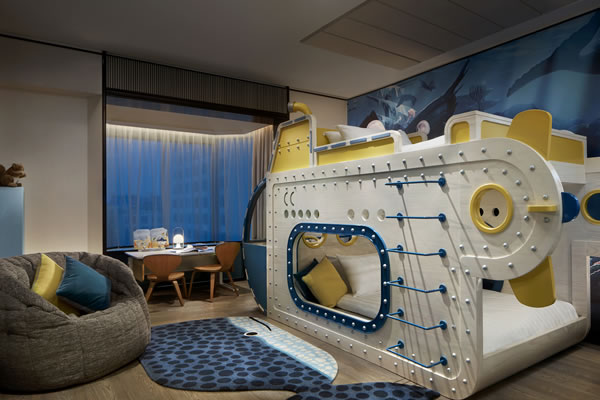 Family Suite Underwater-themed-©Shangri-La Hotel, Singapore