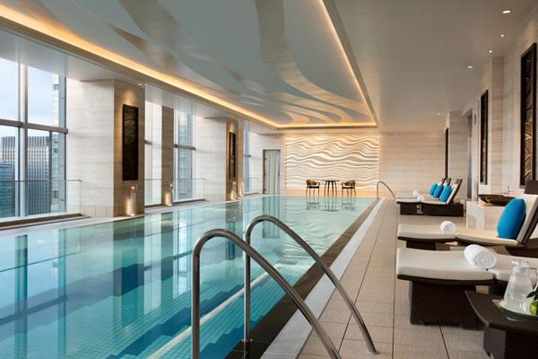 Indoor Pool - ©Shangri-La Hotel Tokyo
