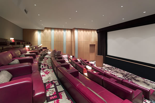 The Screening Room - ©Shangri-La Hotel Toronto