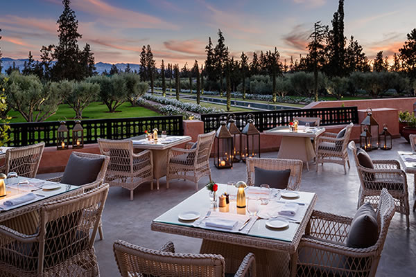 Tamimt Restaurant - ©The Oberoi, Marrakech