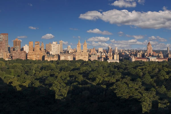 Views from the Central Park Suite - ©The Carlyle, A Rosewood Hotel