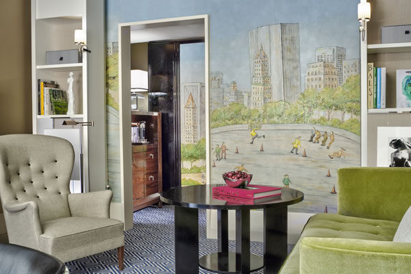 Premier Suite Living Room - ©The Carlyle, A Rosewood Hotel