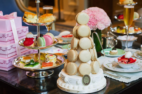 Ladurée Afternoon Tea - ©The Peninsula Beverly Hills