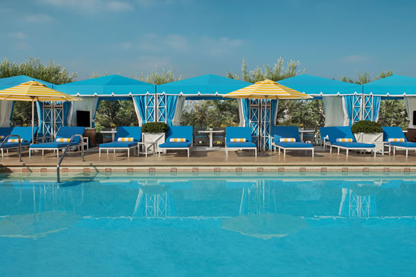 The Pool - ©The Peninsula Beverly Hills
