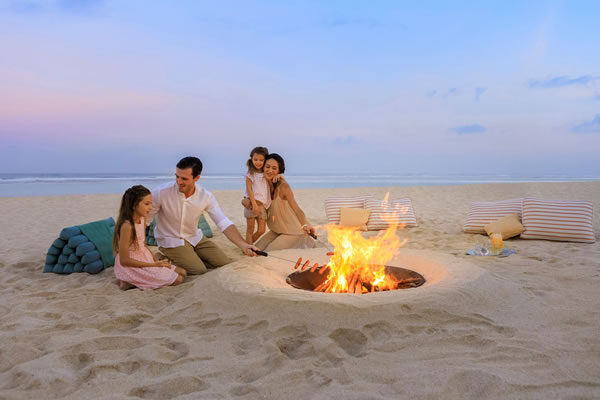 Family Time at the Beach - ©The Ritz-Carlton, Bali