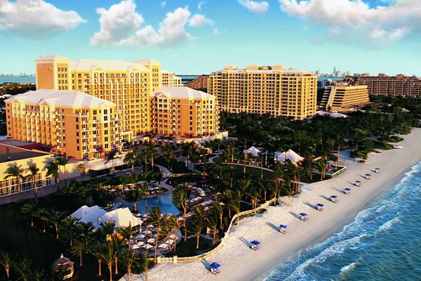 Aerial - ©The Ritz-Carlton Key Biscayne, Miami