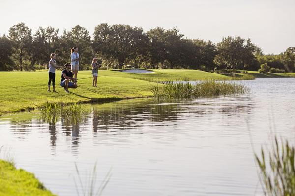 Fishing with Family - ©The Ritz-Carlton Orlando, Grande Lakes