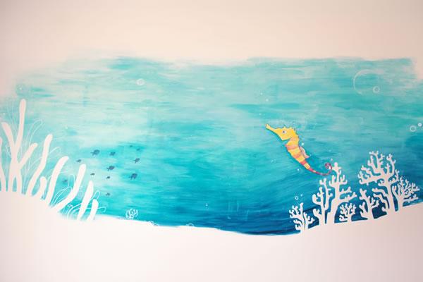 1st painting at Kio House of Kids-©7Pines Kempinski Ibiza