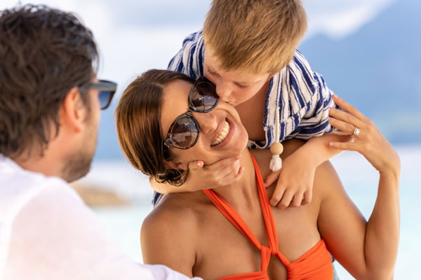Heartwarming family time -©North Island, a Luxury Collection Resort, Seychelles