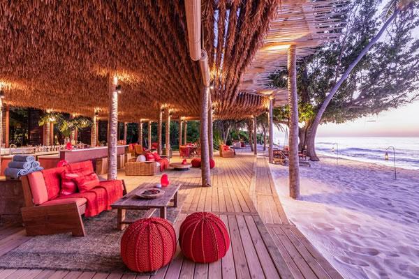 Sunset Beach Bar -©North Island, a Luxury Collection Resort, Seychelles