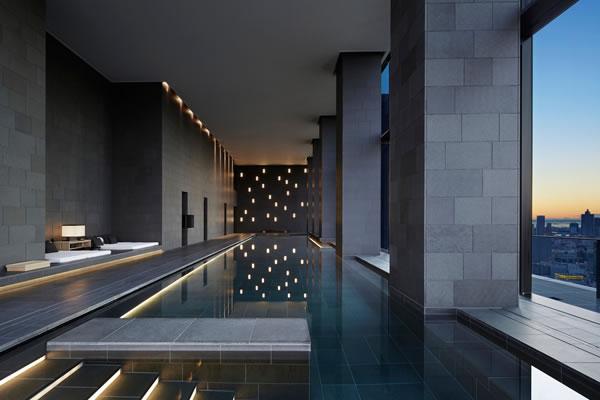 Swimming Pool at Aman Spa - ©Aman Tokyo