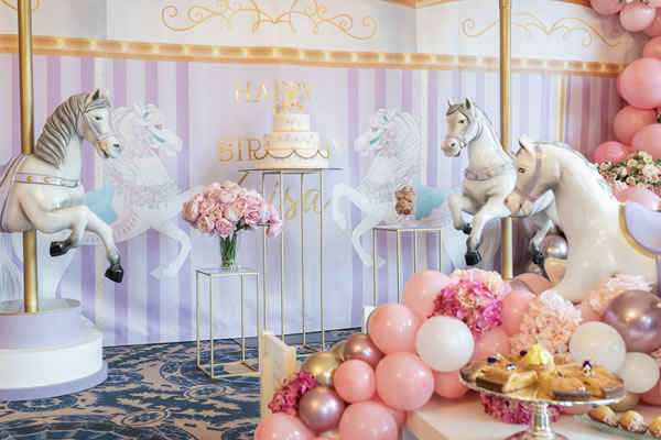 Carousel Birthday Celebration -©Four Seasons Hotel des Bergues Geneva