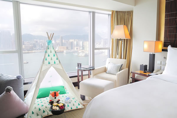 In-Room Camping - ©Four Seasons Hotel Hong Kong