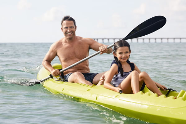 Family Time Kayaking -©Four Seasons Resort Palm Beach
