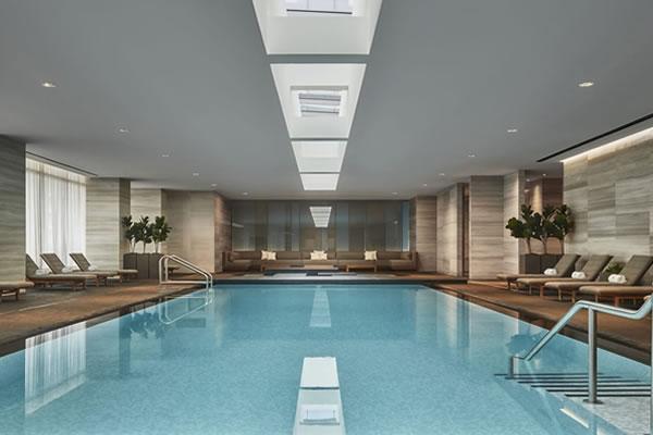 Indoor Swimming Pool -©Four Seasons Hotel Toronto