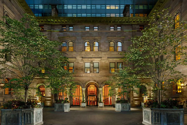 Façade - ©Lotte New York Palace