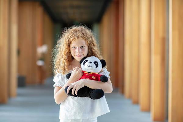 A Younger Fan with signature M.O. Panda - ©Mandarin Oriental, Bodrum