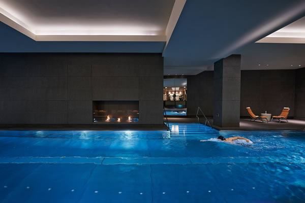 Indoor Swimming Pool -©Mandarin Oriental Hyde Park, London