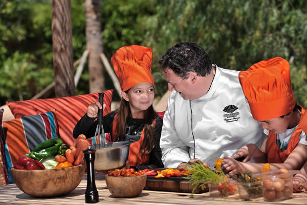 Cooking Class at the Kids Club -©Mandarin Oriental, Marrakech