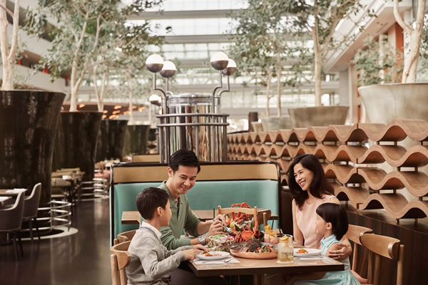 Kids Dine Free at RISE, Marina Bay Sands, Singapore