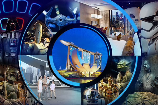 STAR WARS™ Identities x MBS Exhibition - ©Marina Bay Sands
