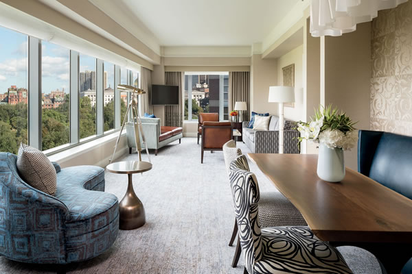 Luxury Parkview Suite - ©The Ritz-Carlton, Boston