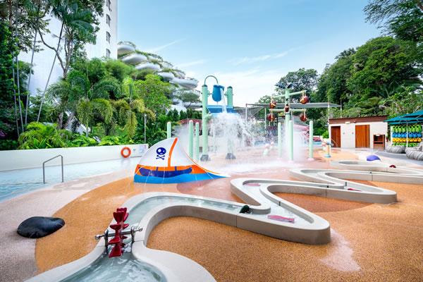Splash Zone -©Shangri-La Hotel, Singapore