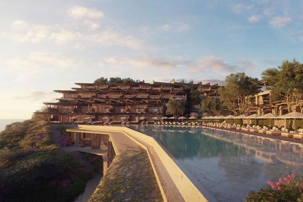 Exterior with swimming pool -©Six Senses Ibiza
