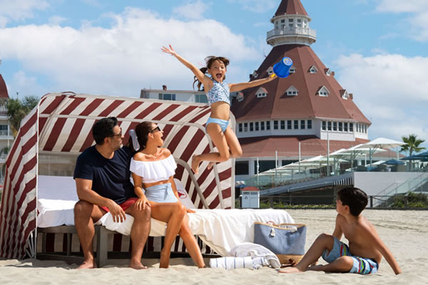 Sweet Escape Offer at America's iconic Hotel del Coronado, San Diego