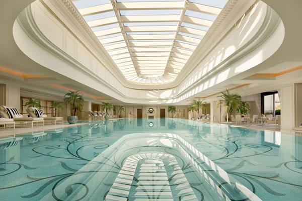 Indoor Swimming Pool - ©The Peninsula Shanghai