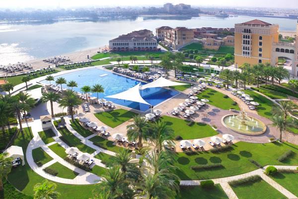 Aerial View of Pool and Beach - ©The Ritz-Carlton Abu Dhabi, Grand Canal