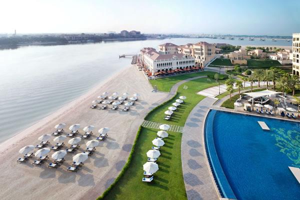 Aerial View of Beach - ©The Ritz-Carlton Abu Dhabi, Grand Canal