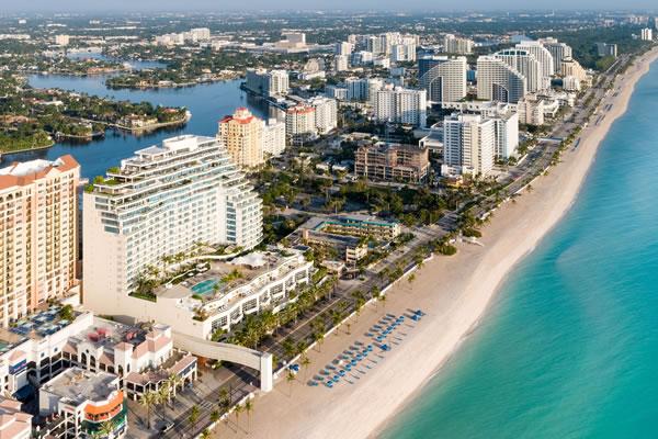 Aerial - ©The Ritz-Carlton, Fort Lauderdale