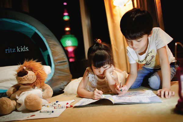 Ritz Kids® Night Safari Adventure - ©The Ritz-Carlton Shanghai, Pudong