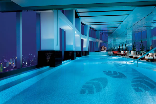 Swimming Pool at The Spa - ©The Ritz-Carlton Shanghai, Pudong