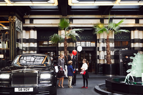 Family Moments at The Savoy London