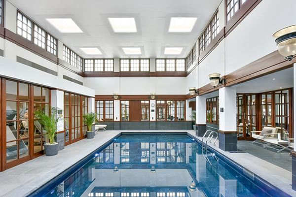 Indoor Swimming Pool - ©The Savoy, A Fairmont Managed Hotel