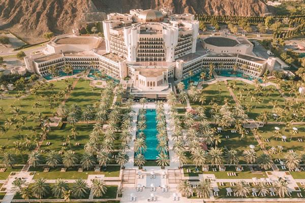 Aerial -©Al Bustan Palace, a Ritz-Carlton Hotel