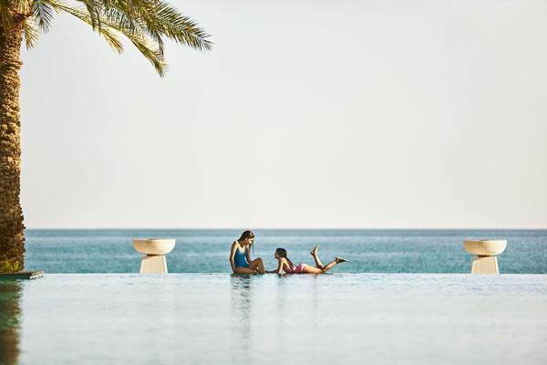 Kids at the Pool -©Al Bustan Palace, a Ritz-Carlton Hotel