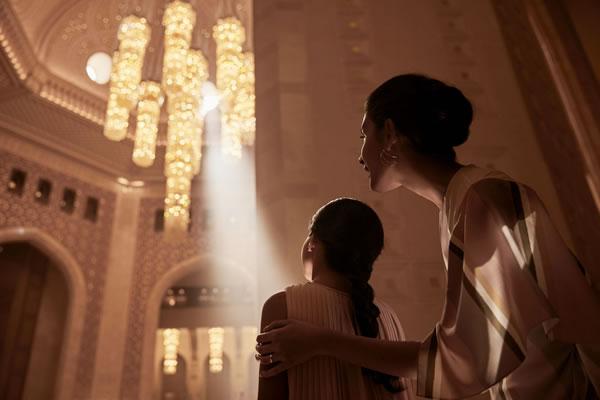 Lobby view -©Al Bustan Palace, a Ritz-Carlton Hotel