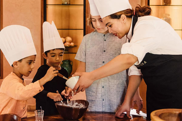 Cooking Class for Kids -©Amanjena Marrakech