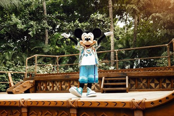 Mickey Mouse - ©Aulani, A Disney Resort & Spa