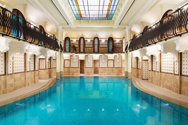 Indoor Swimming Pool -©Corinthia Budapest