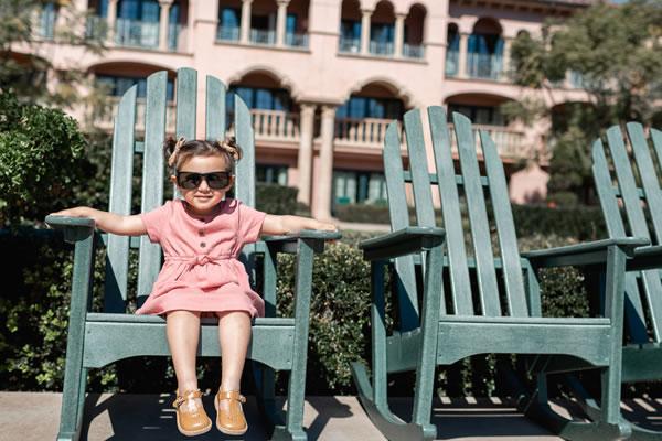Girl enjoying the Sun - ©Fairmont Grand Del Mar