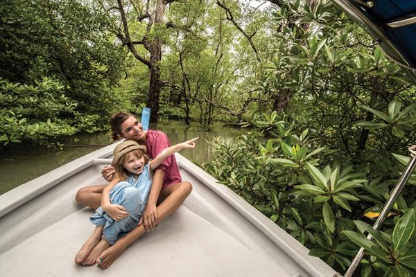 """""""Swamp Skipper"""" boat tour -©Four Seasons Resort Langkawi"""