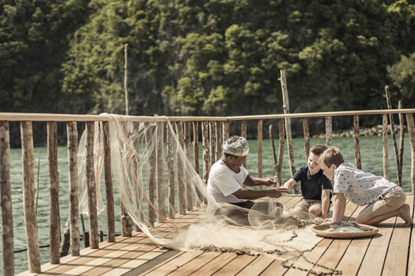 Itty Bitty Fishermen -©Four Seasons Resort Langkawi
