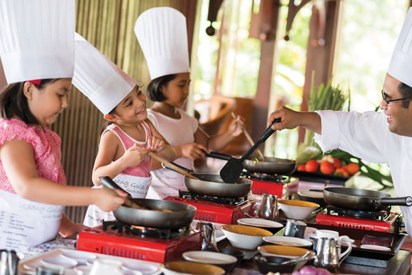 Kanak-Kanak Chef/Young Chef -©Four Seasons Resort Langkawi