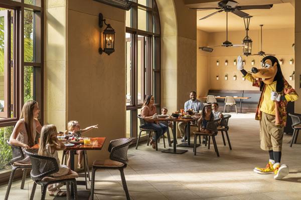 On-site Character Breakfast - ©Four Seasons Resort Orlando at Walt Disney World® Resort