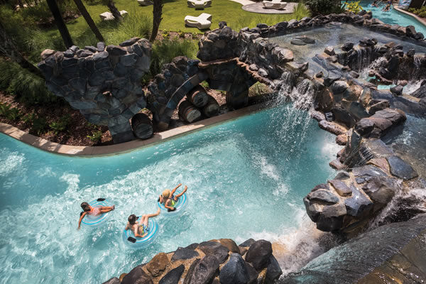 Lazy River©Four Seasons Resort Orlando at Walt Disney World® Resort
