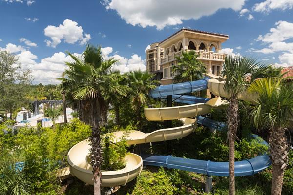 Water Slides ©Four Seasons Resort Orlando at Walt Disney World® Resort